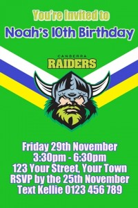 Canberra Raiders 1