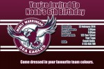 Manly NRL invitation