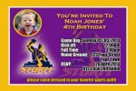 Melbourne Storm NRL football invitation