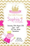 Peppa Pig personalised invitations