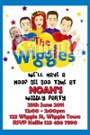 Wiggles new cast invitation