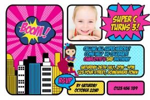 Super Hero Girl 1
