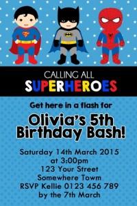 super heroes 5