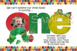 the very hungry caterpillar invitation