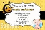 buzz bee invite