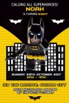 Lego batman invitation and invite