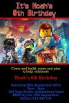 lego movie invitation