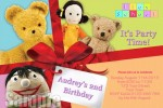 personalised Play school birthday party invites