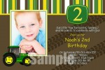 John Deere tractor invitation