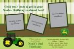 John Deere tractor invite