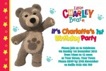 Little Charlie Bear invite