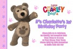 Little charlie bear party invitations