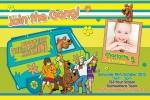 Scooby doo invitation