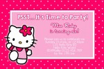 Hello Kitty Invite
