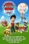 Paw Patrol 1 with photo