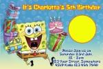 Spongebob squarepants invite