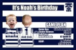Geelong AFL personalised invitation