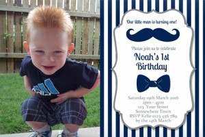Little Man Invitation 5