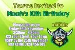 Canberra Raiders 2 NRL personalised invitation