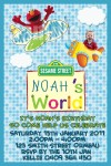 Elmo's world personalised photo birthday party invitations