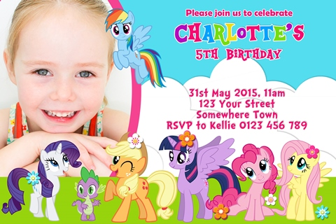 My little pony friendship group invite