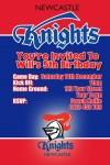NRL Newcastle knights NRL Invitation