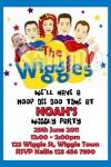 Wiggles new cast invitation