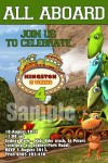 Dinosaur train invite