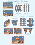 Toy Story digital party favors and Party Pack