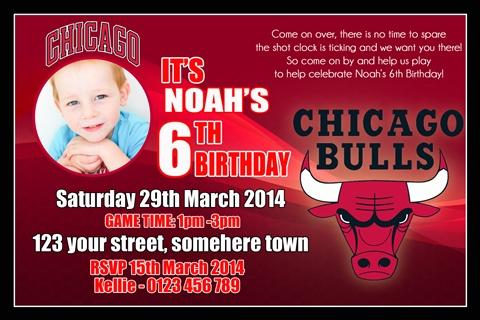 Chicago Bulls invitation