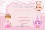 princess party invites