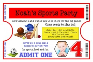 Sports party 3