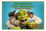 personalised Shrek invitations