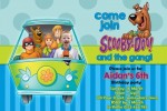 Scooby doo party invitation