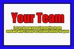 Custom AFL personalised invitation
