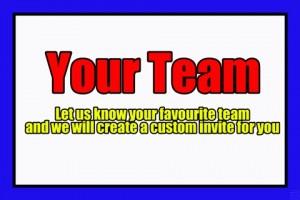 Custom - Your Team