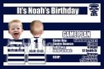 Geelong AFL personalised invitation
