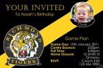 Richmond AFL personalised invitation