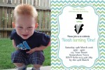 Little Man Invitation 2